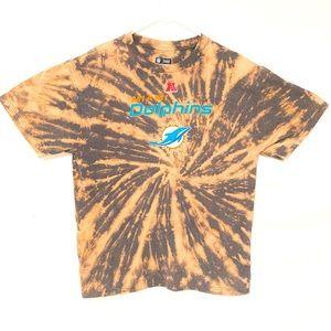 NFL Miami dolphins custom dyed tshirt